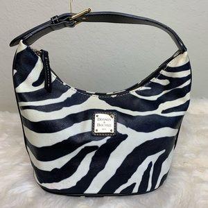Dooney & Bourke zebra bucket bag